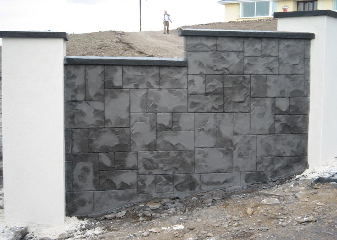 Charcoal Grey Wall Lights : ASHLER SLATE Investment Casting Adamstown Engineering