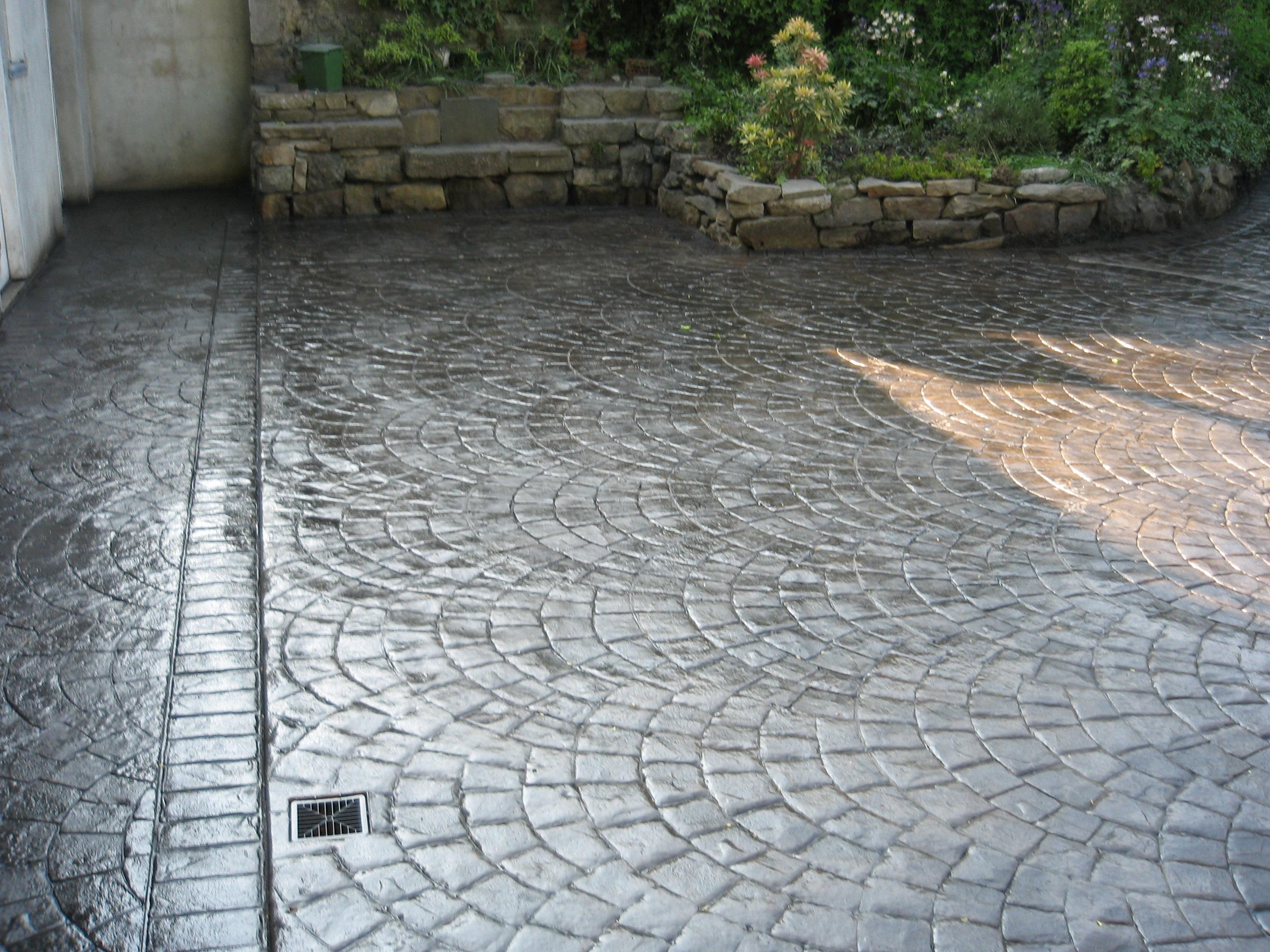 European Fan Matcrete Decorative Concrete Products